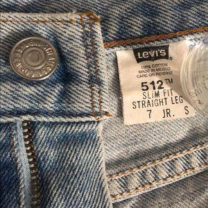 Light wash Levi's Shorts